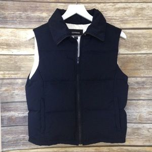 Express Feather Down Puff Vest